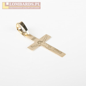 Przywieszka Złota ( Krzyż 3...