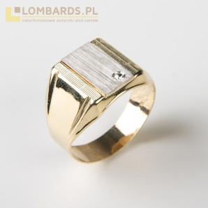 Nowy złoty sygnet pr.585