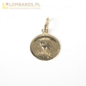 złota przywieszka 1,02g